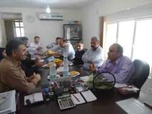 معاونت مسکن ، اداره کل راه و شهرسازی استان خوزستان  از پروژه مجتمع مسکونی نفت بازدید نمودند