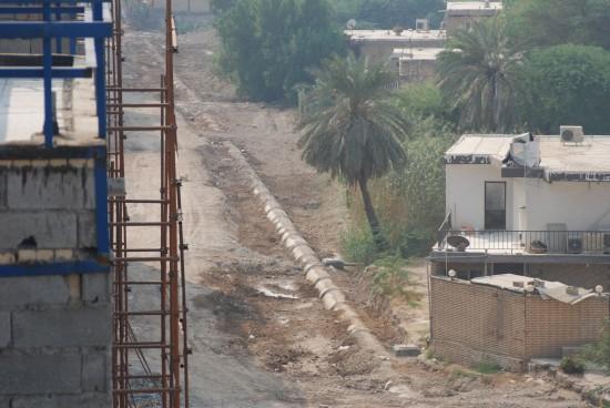 عملیات احیای نهر ضلع غربی پروژه به پایان رسید